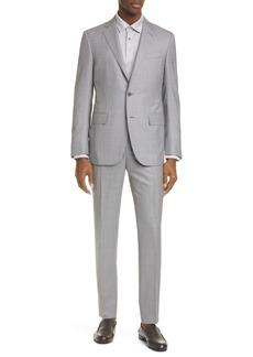 Ermenegildo Zegna Milano Trofeo 600 Classic Fit Wool & Silk Suit