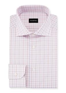 Ermenegildo Zegna Multi-Check Dress Shirt