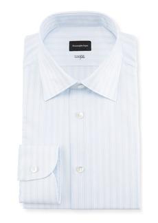 Ermenegildo Zegna Multi-Stripe Cotton Dress Shirt