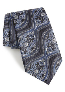 Ermenegildo Zegna Paisley Silk Tie