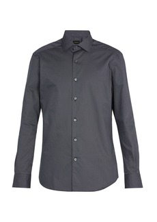 Ermenegildo Zegna Printed cotton shirt