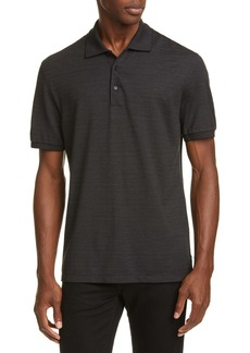 Ermenegildo Zegna Silk & Cotton Polo Shirt