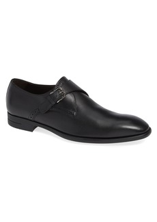 Ermenegildo Zegna Single Strap Monk Shoe (Men)