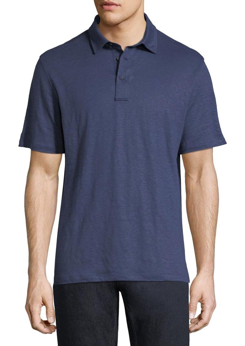 Ermenegildo Zegna Solid Linen Polo Shirt Casual Shirts Shop It To Me