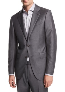 Ermenegildo Zegna Solid Trofeo® Wool Two-Piece Suit