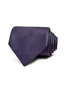 Ermenegildo Zegna Solid Woven Classic Tie