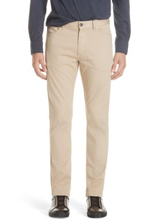 Ermenegildo Zegna Stretch Cotton Five Pocket Pants