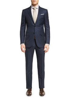 Ermenegildo Zegna Striped Wool Two-Piece Suit