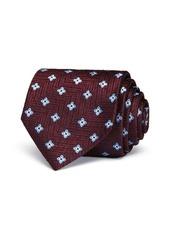 Ermenegildo Zegna Textured Florette Classic Tie