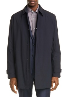 Ermenegildo Zegna Trofeo Elements Wool Coat