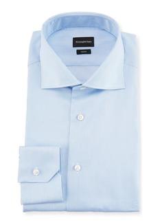 Ermenegildo Zegna Trofeo® Narrow-Stripe Cotton Dress Shirt