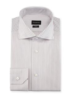 Ermenegildo Zegna Twin-Stripe Cotton Dress Shirt