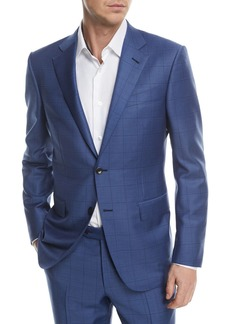 ce8d60dd2b7ab Ermenegildo Zegna Ermenegildo Zegna Peak-Lapel Two-Piece Tuxedo Suit ...