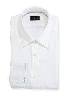 Ermenegildo Zegna Woven Mesh Dress Shirt