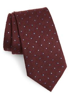 Ermenegildo Zegna Ermengildo Zegna Dot Silk Tie