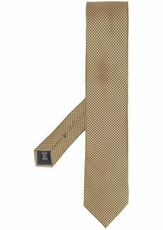 Ermenegildo Zegna Fantasia geometric pattern tie