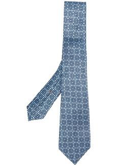 Ermenegildo Zegna geometric patterned tie