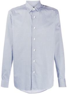 Ermenegildo Zegna geometric print shirt