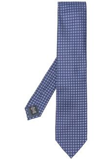 Ermenegildo Zegna geometric print neck tie