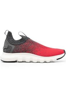 Ermenegildo Zegna gradient sock-style sneakers