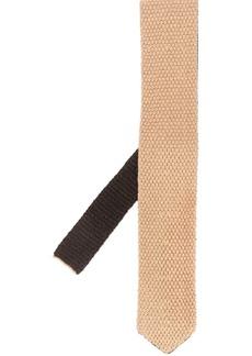 Ermenegildo Zegna knitted embroidered tie