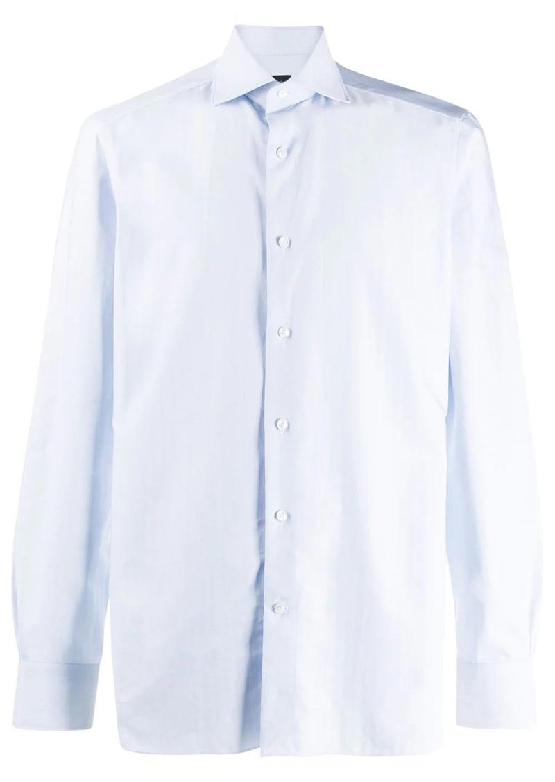 Ermenegildo Zegna long-sleeve fitted shirt
