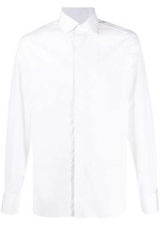 Ermenegildo Zegna long-sleeved plain shirt