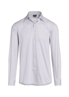 Ermenegildo Zegna Martini Print Sport Shirt