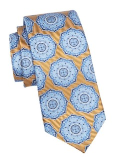 Ermenegildo Zegna Medium Yellow Fan Tie