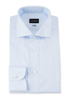 Ermenegildo Zegna Men's 100fili Micro-Stripe Dress Shirt