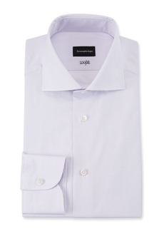 Ermenegildo Zegna Men's 100fili Textured Solid Dress Shirt