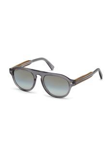 Ermenegildo Zegna Men's Aviator Aviator Sunglasses