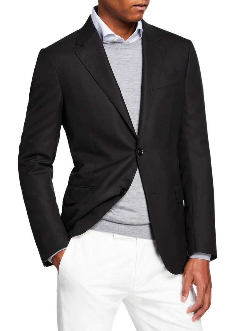 Ermenegildo Zegna Men's Cool Effect Wool Blazer