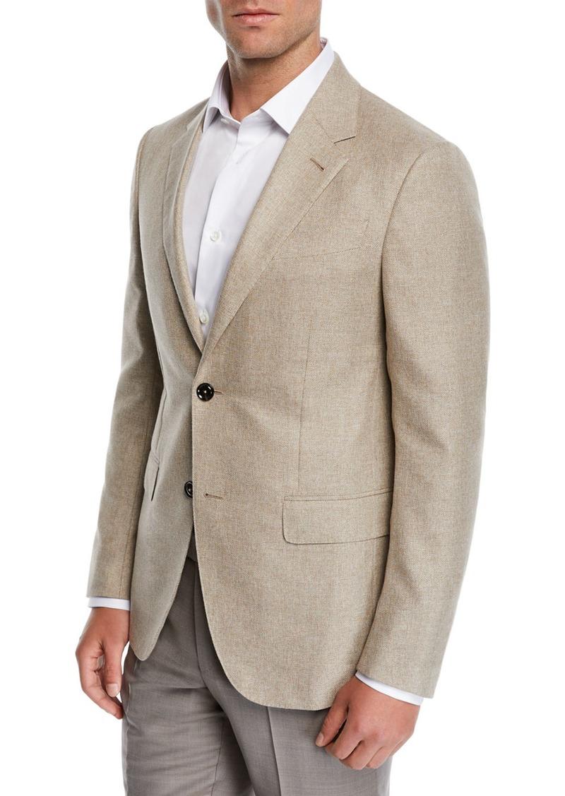 Ermenegildo Zegna Men's Cotton Blazer