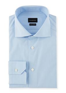 Ermenegildo Zegna Men's Cotton Stripe Dress Shirt