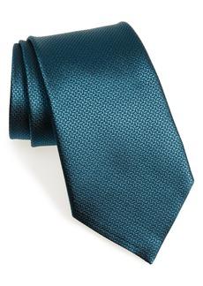 Men's Ermenegildo Zegna Geometric Silk Tie