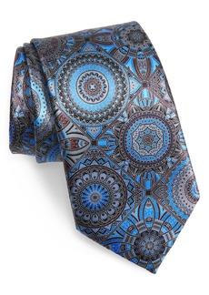 Men's Ermenegildo Zegna Medallion Silk Tie