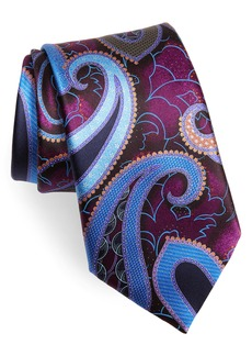 Men's Ermenegildo Zegna Paisley Silk Tie