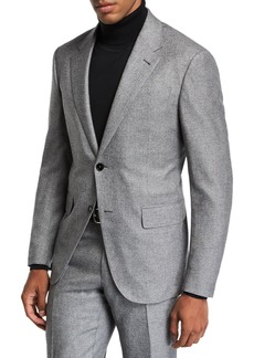 Ermenegildo Zegna Men's Melange Two-Button Jacket