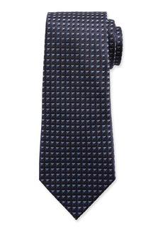 Ermenegildo Zegna Men's Shaded Squares Silk Tie