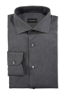 Ermenegildo Zegna Men's Solid Vaiella Dress Shirt