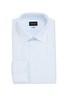 Ermenegildo Zegna Men's Tonal Check Regular-Fit Dress Shirt