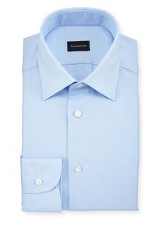 Ermenegildo Zegna Men's Tonal Plaid Dress Shirt