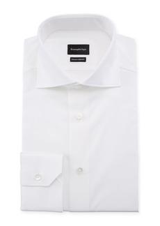 Ermenegildo Zegna Men's Trofeo Comfort Dress Shirt  White