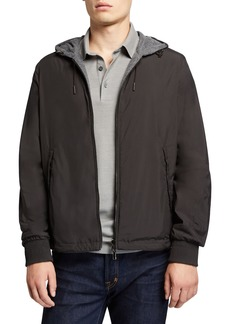 Ermenegildo Zegna Men's Wind Jacket with Cashmere Lining
