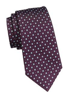 Ermenegildo Zegna Micro Neat Silk Tie