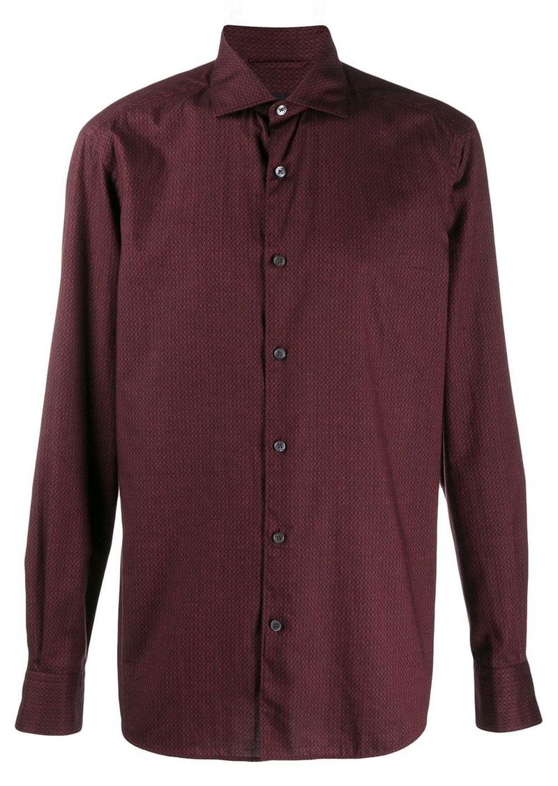 Ermenegildo Zegna micro print shirt