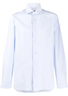 Ermenegildo Zegna micro-striped buttoned shirt