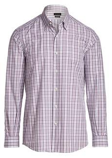 Ermenegildo Zegna Multi-Check Print Shirt
