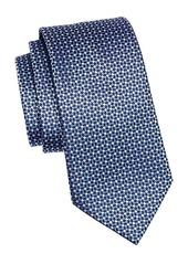 Ermenegildo Zegna Multi Diamond Silk Tie